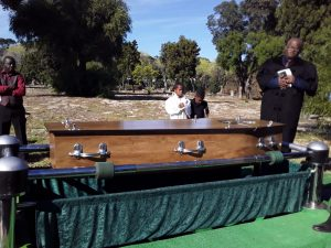 Petrus Miggels laid to rest on 9 April 2020 (Photo: supplied)